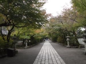 石山寺 参道