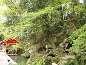 石山寺 緑豊かな境内
