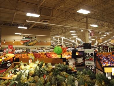 広いシアトルのスーパーマーケット
