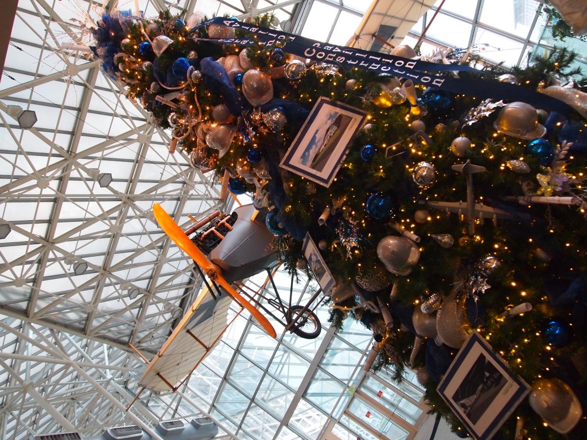 クリスマスツリー 航空博物館