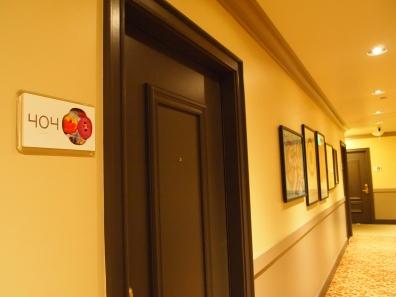 私が宿泊した404号室