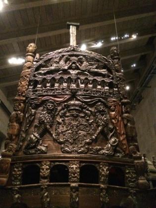 見事な彫刻 VASA号